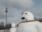 ベルリンの真冬