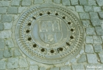 プラハのマンホール