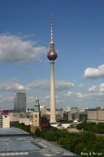 Berliner Fernsehturm (テレビ塔)