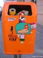 デザインゴミ箱 2